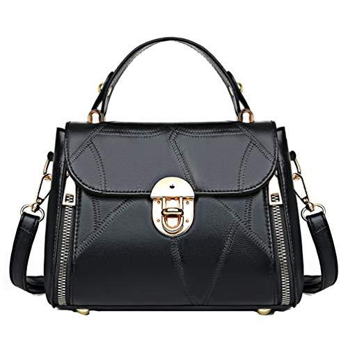 Bolso de mano para mujer, para exterior, informal, bolso cruzado, bolso de mano, bolso pequeño, bolso de mujer, color negro
