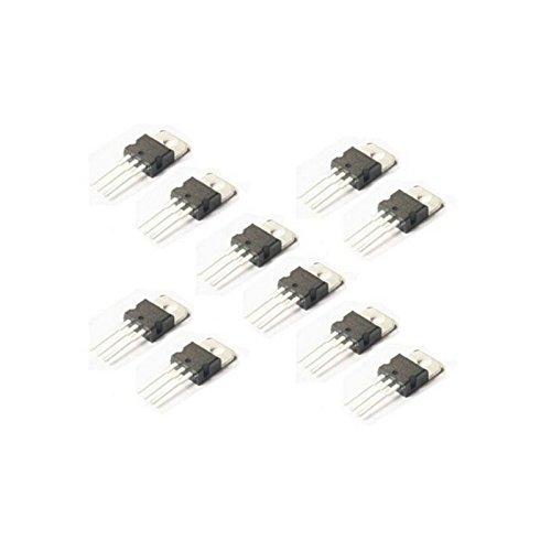 10pcs L7805 LM7805 7805 regulador de voltaje de + 5V 1.5A