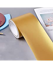LQJin Home Decor Taille Lijn Waterdicht Goud Zilver Zwart Gap Afdichtingsfolie Tape Zelfklevende Strip Trappen Plint Vloer Muurstickers