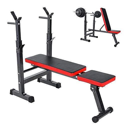 Grist CC Verstellbare Fitnessbank,Multifunktion Hantelbank Schrägbank,Standard-Hantelbänke,Für Bodybuilding-Training Krafttraining