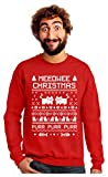 Meeowee Christmas Ugly Sweater - Cute Xmas Party...
