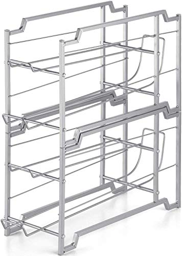 Auledio Stackable Can Rack Organizer For Kitchen Cabinet,...