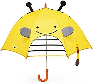 Skip Hop Zoobrella Little Kid Umbrella, Brooklyn Bee, One size