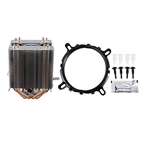 SymArt cojín de enfriamiento CPU Cooler 4 Tubo De Calor De Cobre Puro Dos Sistema De Enfriamiento De La Torre De Enfriamiento 9cm CPU...