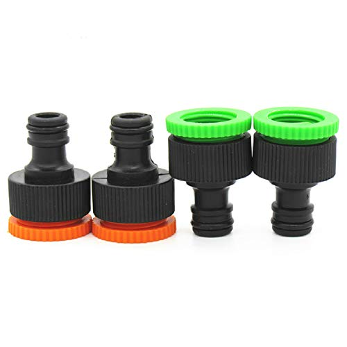 Générique 2 Piece Female Thread Quick Connector Garden Faucet Watering Hose Connector for Irrigation System Garden Water Connector
