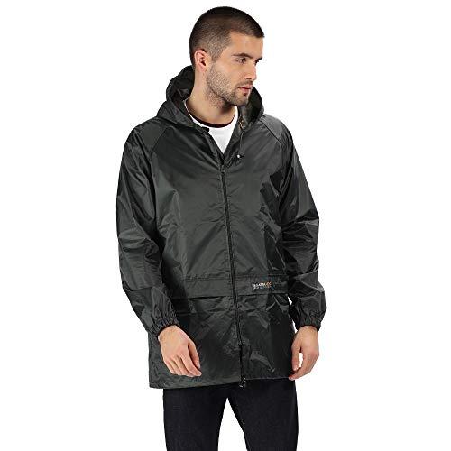 Regatta Mens Stormbreak Shell Jacket, Dark Olive, X-Large