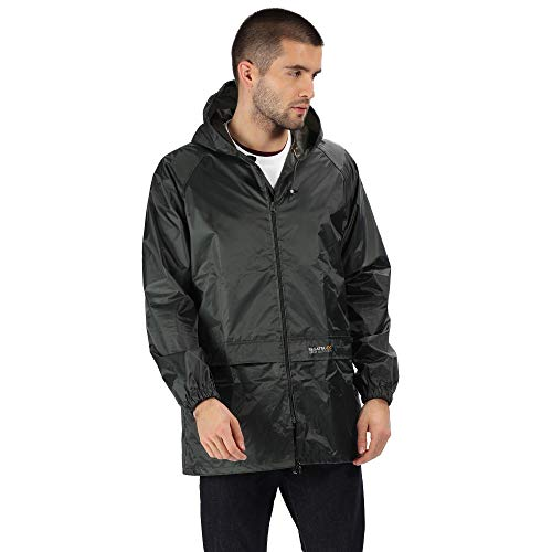 Regatta Mens Stormbreak Waterproof Windproof Performance Jacket (M) (Dark Olive)