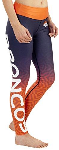 FOCO Denver Broncos Leggings mit Farbverlauf, für Damen, Größe XL
