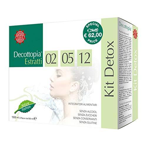 Kit Detox Decottopia Tisanoreica - estratti 02, 05 e 12