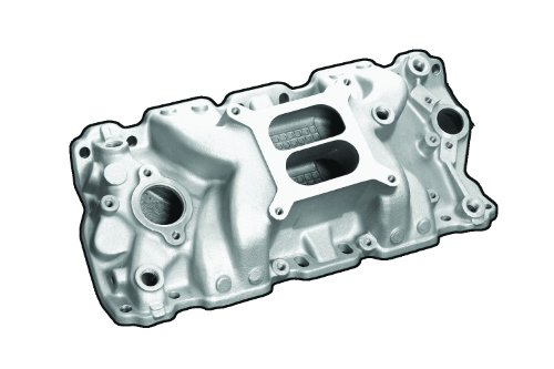 Professional Products 52021 Satin Typhoon Intake Manifold for Small Block Chevy