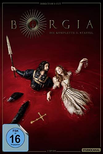 Borgia - Die komplette 3. Staffel (Director's Cut, 4 Discs)