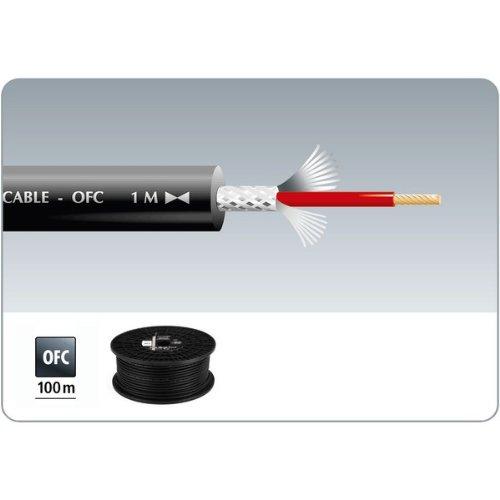 Cavo Audio Schermato Matassa da 100 Metri 1 x 0.7mm Monacor MLC-150/SW