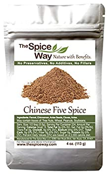 The Spice Way Chinese Five Spice Seasoning - Traditional Authentic Powder Blend 4 oz
