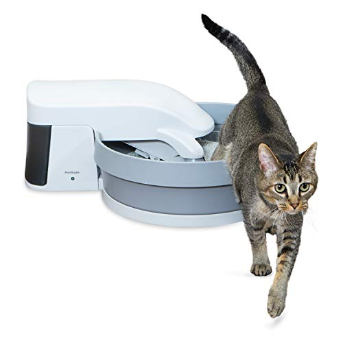 PetSafe Simply Clean Self-Cleaning Cat Litter Box, Automatic Litter Box for Cats, Works with Clumping Cat Litter