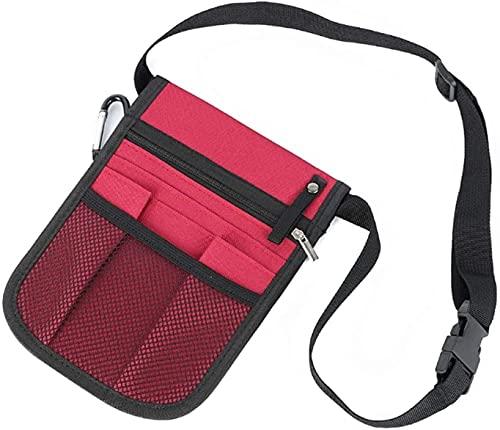 Bolso de la cintura Caja NurSe Organizer Cinturón Bolsa de cintura Funda de bolsa para tijeras para el hogar Kit de cuidado Herramienta de la herramienta Bolsa de cadera de la bolsa de la cintura Kit