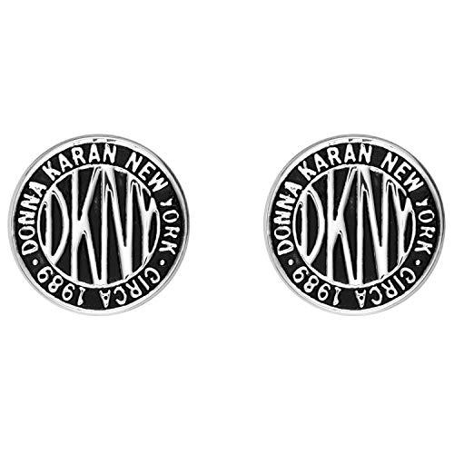 DKNY Damen-Ohrringe Logo Token 5520031