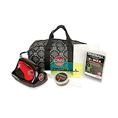 OneBall Jay Ski/Snowboard Tune Kit With Waxing Iron and Wax