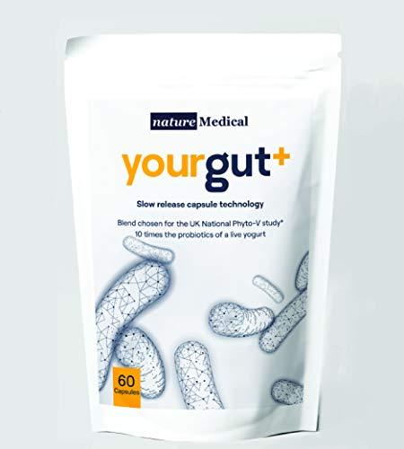 Yourgut+ 10 Times The probiotics of a Live Yogurt - Lactose Free