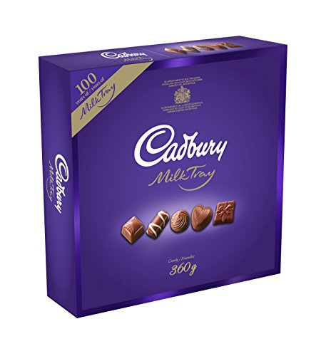 Cadbury Milk Tray Chocolate, 360g