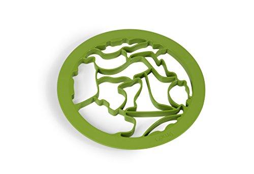 Molde para Galletas, Verde, 24 x 24 x 1,5 cm