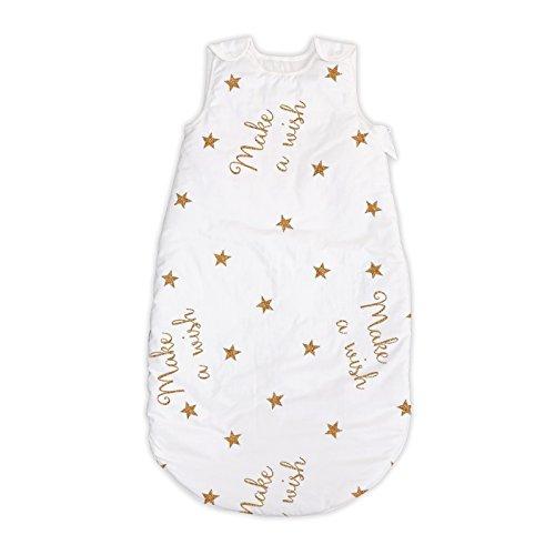 Make a wish Pati'Chou 100% Algodón Sacos de dormir para bebés 12-24 meses (90 cm, 2.5 tog) - primavera/otoño