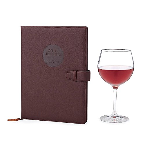 Wine Making Journal | Space for 70+ wine recipes, Wine Glasses, Wine Colors, Wine Bottles, Yeast Strain Information, Wine Labels | Ideal Gift For Wine Lovers [journal]