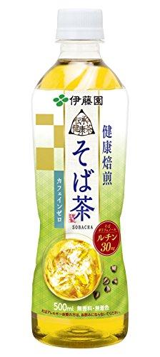 伊藤園 伝承の健康茶 そば茶 500ml×24本