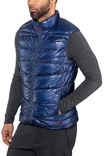 Yeti Cavoc Gilet sans Manches en Duvet Ultra léger Homme, Estate Blue Modèle XXL 2020 Veste