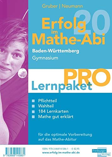 Erfolg im Mathe-Abi 2020 Lernpaket 'Pro' Baden-Württemberg Gymnasium