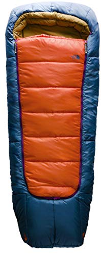The North Face Homestead Bed - Papaya Orange/Shady Blue Regular
