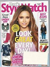 PEOPLE STYLE WATCH MAGAZINE October 2013 NINA DOBREV Best Jeans Fashion Beauty