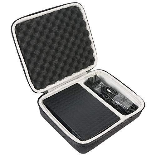 Khanka Tasche Schutzhülle case Für Seagate Expansion Desktop 2TB 3TB 4TB 5TB 6TB 10TB Externe Desktop Festplatte 3.5 Zoll. (Für 2 3 4 5 6 10TB)