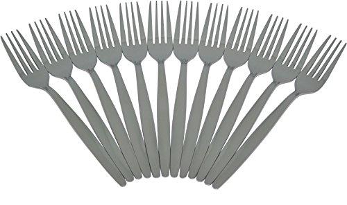 Juego de tenedores - Acero inoxidable - Pack de 12