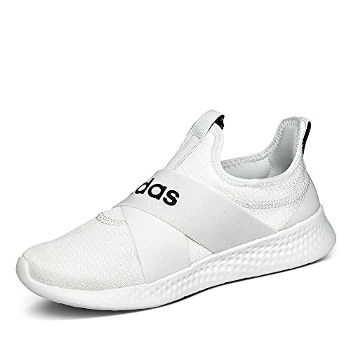 adidas Damen Puremotion Adapt Laufschuhe, Mehrfarbig Ftwbla Negbás Gripal, 39 1/3 EU