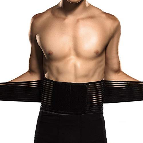 YANxrYD Herren Damen GewichthebergüRtel Taillenmieder GüRtel Atmungsaktiv, Fitness GüRtel Krafttraining Crossfit Training TrainingsgüRtel Hocke Squat, Waist Trimmer Taille Trainer GüRtel(M/L/XL)