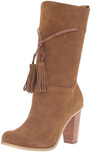 Very Volatile Women's Kisa Slouch Boot, Tan, 8.5 B US