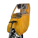 子供乗せ自転車 レインカバー チャイルドシート 自転車 後席用 革新なTPU材質 前後開閉可 撥水加工