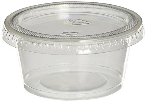 Polar Ice Jello Shot pijs040200Souffle Cups mit Deckel,-/Bratenspritze, transluzent, 40er