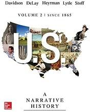 Us: A Narrative History Volume 2 W/ Connect Plus 1t AC(Hardback) - 2014 Edition