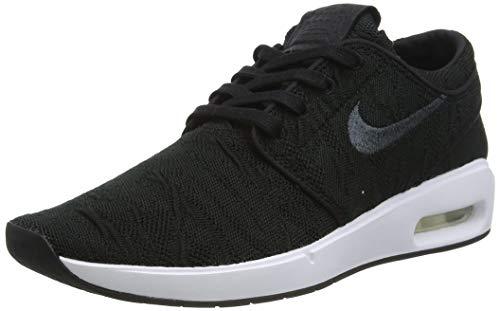 Nike SB AIR Max Janoski 2, Chaussure de Piste d'athltisme Homme, Noir Blanc, 42 EU