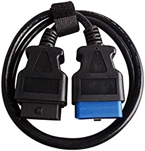 OBD2 OBDII 16pin Male Female Extension Cable OBD Diagnostic Extender 150cm  5ft  16Pin OBD2 extend Cable