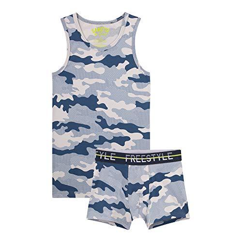 Sanetta Jungen Unterwäscheset zweiteilig Jungen Unterwäscheset zweiteilig - Camouflage, 176