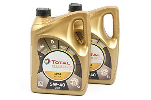 Total 2x 5Liter (10Liter) Quartz Energy 90005W-40Motorenöl 5W40