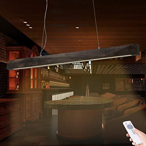 Luz Colgante De Registro LED Luces Colgantes Moderna Restaurante Lámpara Colgante Araña De Altura Ajustable Con Control Remoto Regulable 3000K-6000K Bar Lámparas De Araña