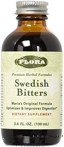 Flora Swedish Bitters, 3.4 Fluid Ounces