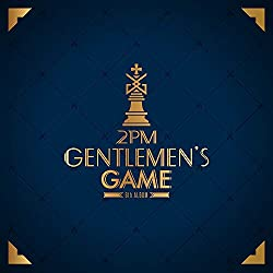 2PM-[GENTLEMEN'S GAME] 6th Album CD+68p Photo Book+1p PhotoCard K-POP Sealed