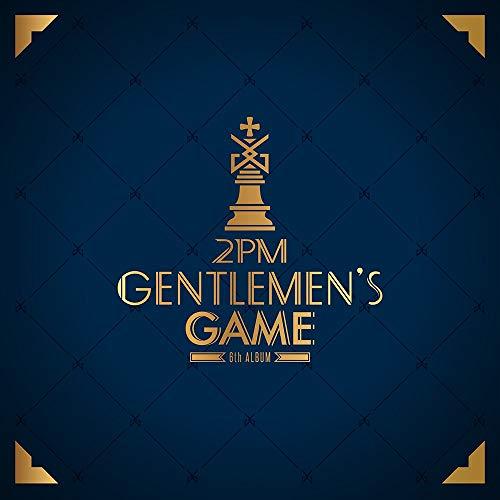 2PM-[GENTLEMEN\'S GAME] 6th Album CD+68p Photo Book+1p PhotoCard K-POP Sealed