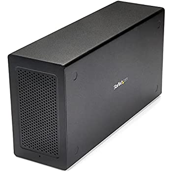 StarTech.com Thunderbolt 3 PCIe Expansion Chassis w/DisplayPort PCIe x16 External PCIe Slot for Thunderbolt 3 Devices  TB31PCIEX16