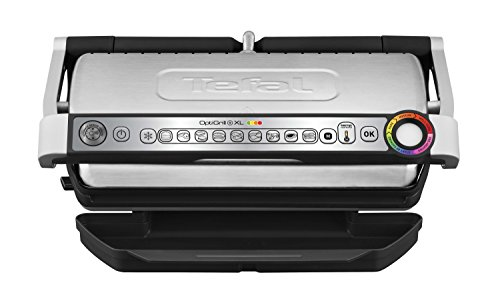 Tefal GC722D Optigrill XL Acero inoxidable/Negro