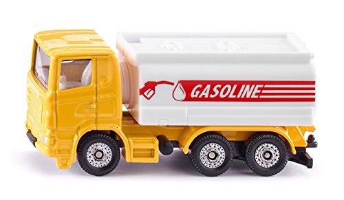 SIKU 1387, Tankwagen, Metall/Kunststoff, Gelb/Weiß, Anhängerkupplung